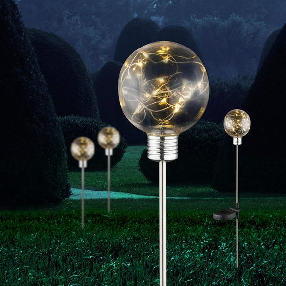 Solarleuchte Sina max. 0,06 Watt - KONVENTIONELL, Kunststoff/Metall (10/72cm) - Mömax modern living