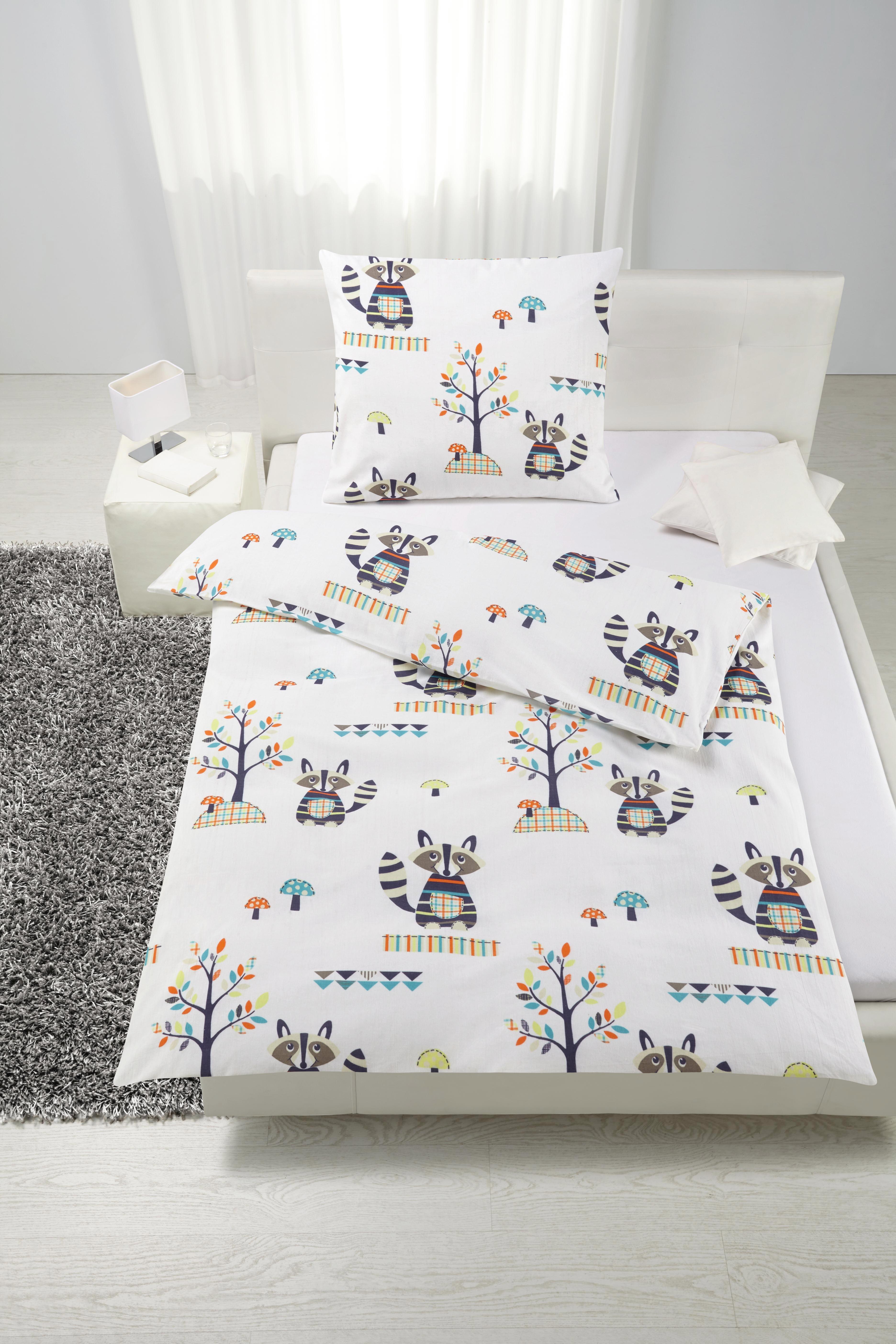 Bettwäsche Andi ca. 135x200cm - Weiß, Textil - MÖMAX modern living