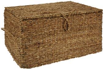 Láda Ranya-l - Natúr, További természetes anyagok/Fém (60/32/45cm) - Mömax modern living