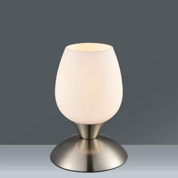 Tischleuchte Cup, max. 40 Watt - Weiß, MODERN, Glas/Metall (12,5/22,6cm) - Mömax modern living