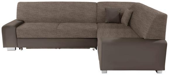 Funkcijska Sedežna Ganritura Miami - odtenki umazano rjave/rjava, Moderno, umetna masa/tekstil (260/210cm) - MÖMAX modern living