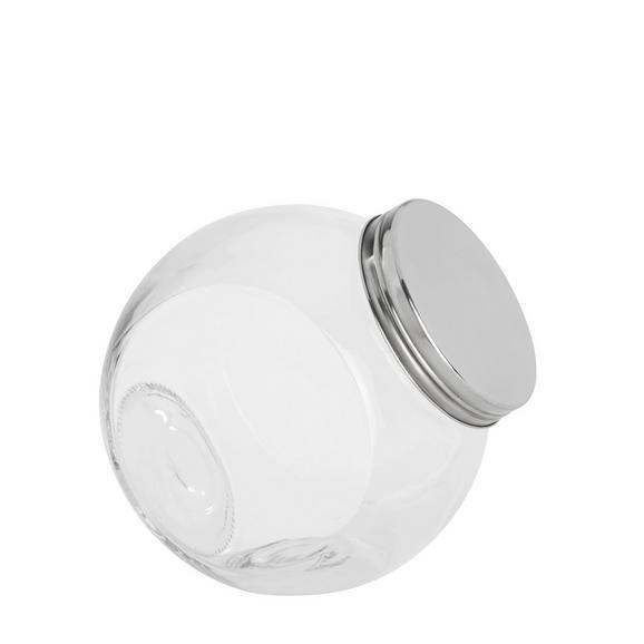 Recipient Pentru Condimente Antonius -based- - Clar/Inox, metal/pahar (16/11/16,5cm) - Based