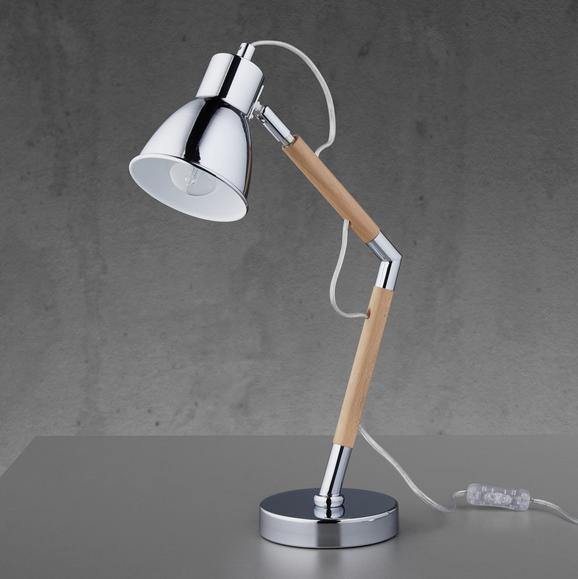 Tischleuchte Florina - MODERN, Holz/Metall (13/45cm) - Modern Living
