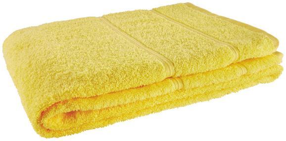 Duschtuch Melanie in Gelb - Gelb, Textil (70/140cm)