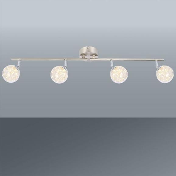 Led-reflektor Kiko - Moderno, kovina/steklo (80/10/19,5cm) - Premium Living