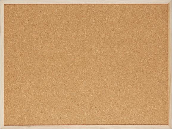 Pinnwand Cora in Braun aus Holz/kork - Braun, Holz (60/45/1cm) - Mömax modern living