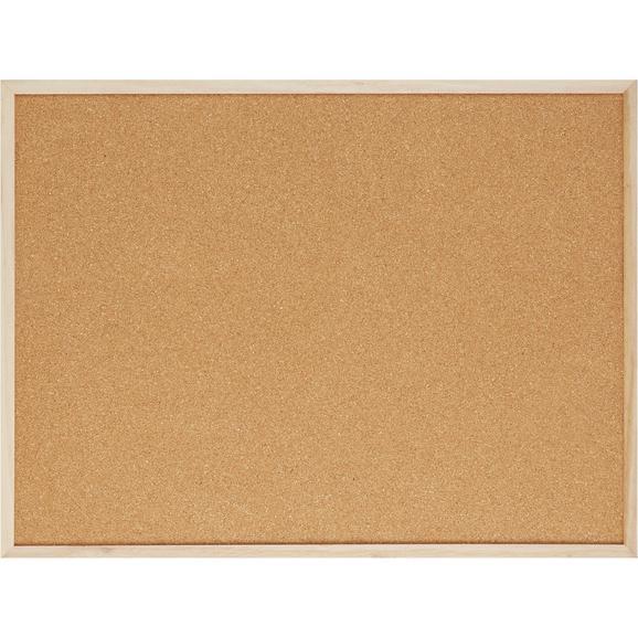 pinnwand cora in braun aus holz kork online kaufen m max. Black Bedroom Furniture Sets. Home Design Ideas