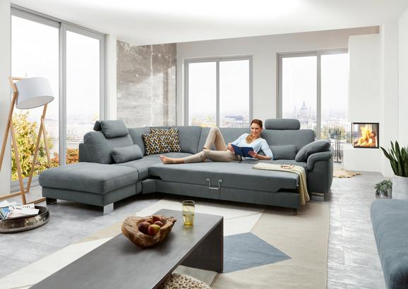 Sjedeća Garnitura Sjedeća Garnitura Bobby Mini - siva, Lifestyle, tekstil/metal (306/238cm) - Premium Living