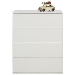 Kommode in Weiß - Grau, MODERN, Holzwerkstoff/Kunststoff (75/95/43cm) - Modern Living