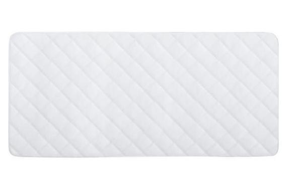 Posteljni Nadvložek Ella -ext- - bela, tekstil (95/195cm) - Premium Living