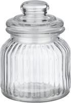 Vorratsdose Jochen aus Glas - Klar, ROMANTIK / LANDHAUS, Glas (8/12,5cm) - Mömax modern living