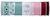 Geschenkband Sam Verschiedene Farben - Altrosa/Hellgrün, KONVENTIONELL, Textil (8,5/8,5/2,6cm)