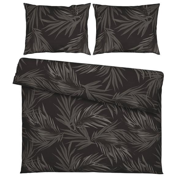 Lenjerie De Pat Mila Xxl - antracit/negru, Lifestyle, textil (200/220cm) - Modern Living