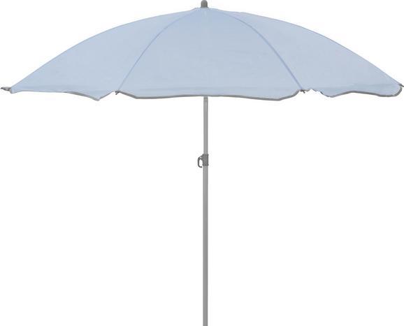Senčnik Lecci - svetlo modra/siva, kovina/umetna masa (180/190cm) - Mömax modern living