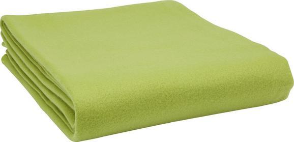 Fleecedecke Trendix Grasgrün 130x180 cm - Grün, Textil (130/180cm) - Mömax modern living