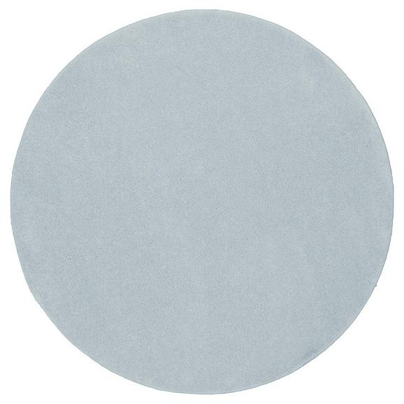 Tuftteppich Mailand in Blau Ø ca. 133cm - Blau, MODERN, Textil (133/133cm) - Modern Living