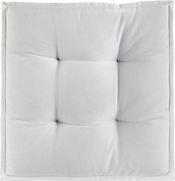 Boxkissen Solid, ca. 40x40x5cm - Creme, Textil (40/40/5cm) - Mömax modern living