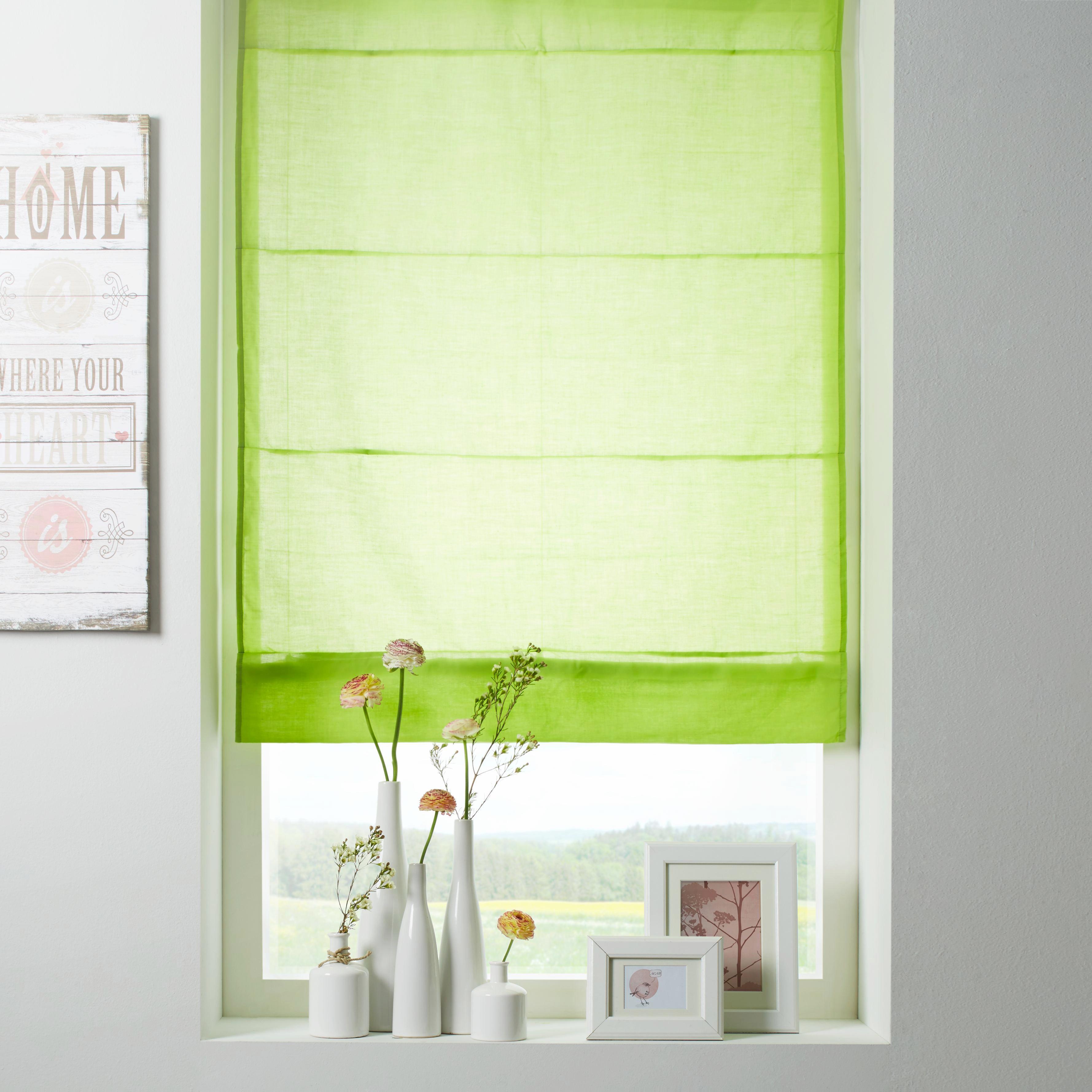Roló Finn - zöld, textil (100/170cm) - MÖMAX modern living