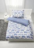 Posteljnina Wheels Wende -ext- - modra/bela, Moderno, tekstil (140/200cm) - Mömax modern living