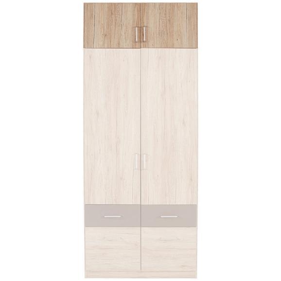 Nastavek Za Omaro Aalen-extra - aluminij, Konvencionalno, umetna masa/leseni material (91/39/54cm) - Mömax modern living