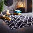 Teppich Parma ca. 160x230cm - Schwarz/Weiß, Textil (160/230cm) - Mömax modern living