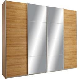 Omara Z Drsnimi Vrati Syncrono - hrast, Konvencionalno, leseni material (271/230/62cm) - Modern Living