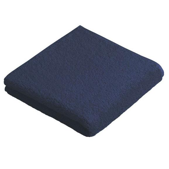 Fürdőlepedő Vossen New Generation - Sötétkék, Textil (100/150cm)