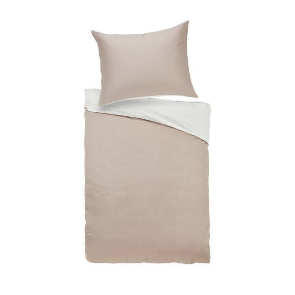 Posteljnina Belinda Xl - peščena/krem, tekstil (140/220cm) - Premium Living