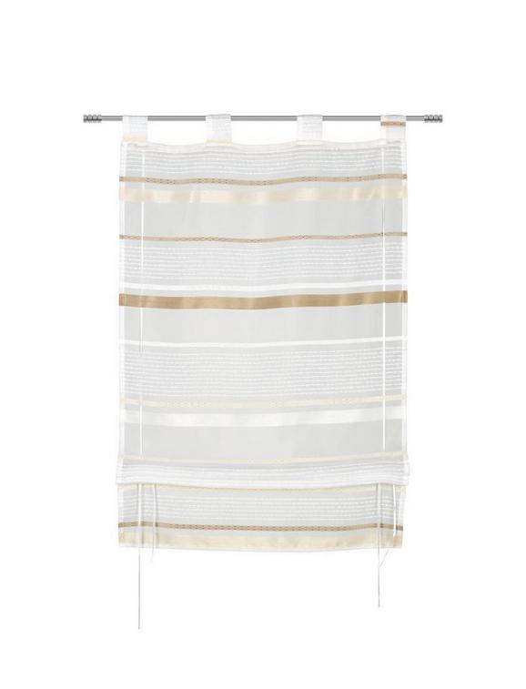 Bändchenrollo Adele, ca. 80x140cm - Braun, KONVENTIONELL, Textil (80/140cm) - Mömax modern living