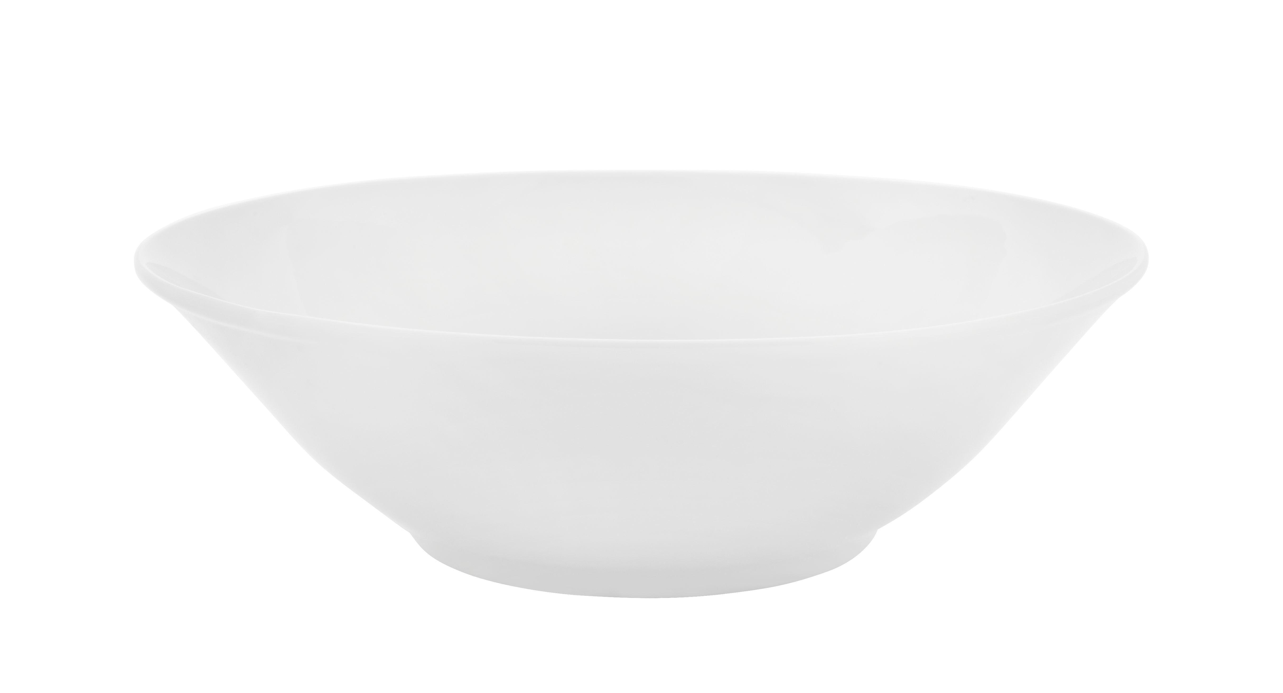 Schüssel Adria in Weiß - Weiß, KONVENTIONELL, Keramik (23cm) - MÖMAX modern living