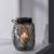Windlicht Keno Ø/H ca. 14,5/20,5 cm - Hellgrau, MODERN, Glas (14,5/20,5cm) - Bessagi Home
