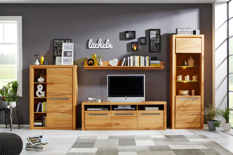 TV-Element Holz - KONVENTIONELL, Holz/Holzwerkstoff (178/59/50cm) - ZANDIARA