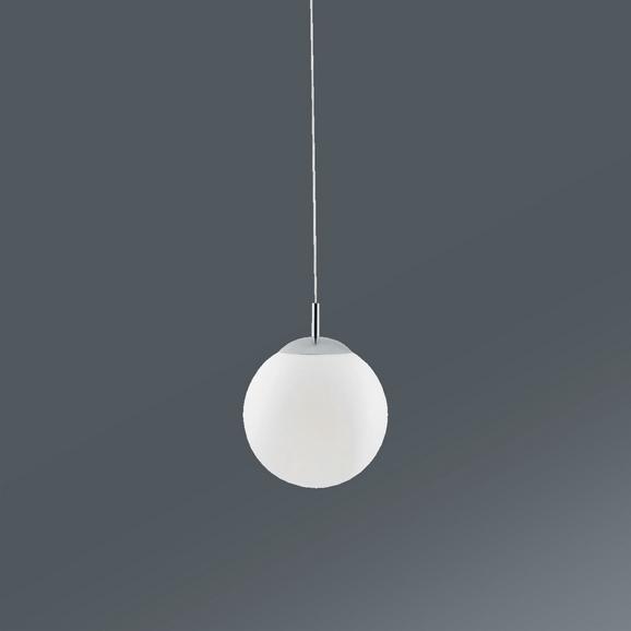 Viseča Svetilka Balla - opal, Konvencionalno, kovina/steklo (30/32cm) - Mömax modern living