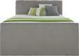 Boxspringbett Grau 180x200cm - Dunkelgrau/Beige, KONVENTIONELL, Holz/Holzwerkstoff (225/188/118cm) - Premium Living