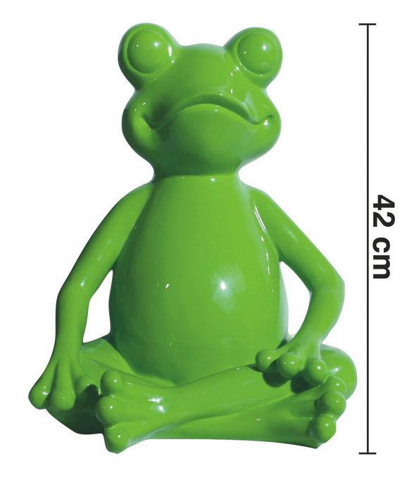 Dekofrosch Froggy H ca. 42 cm - Grün, LIFESTYLE, Kunststoff (34/33/42cm) - Premium Living