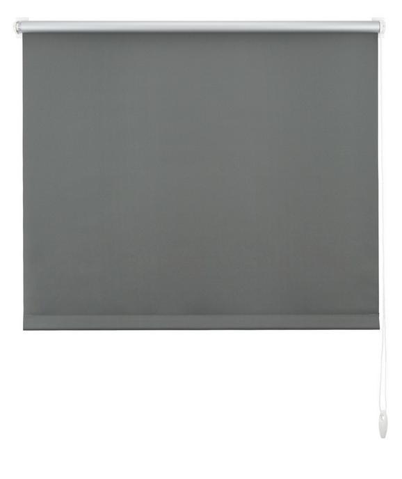 Klemmrollo Thermo, ca. 100x150cm - Schieferfarben, Textil (100/150cm) - MÖMAX modern living