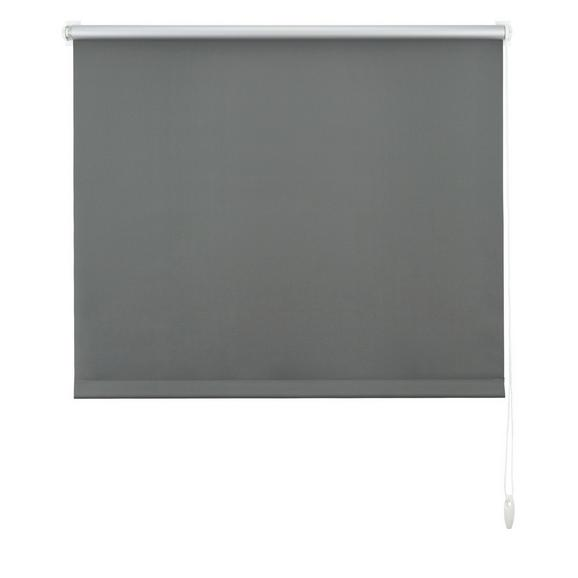 Klemmrollo Thermo, ca. 100x150cm - Schieferfarben, Textil (100/150cm) - Premium Living
