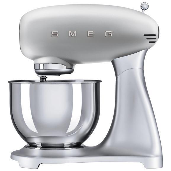 Küchenmaschine SMEG SMF01SVEU - Silberfarben (40,2/37,8/22,1cm) - SMEG