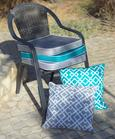 Sedežna Blazina Jo - turkizna, tekstil (43/43/5cm) - Mömax modern living