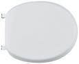Wc-sitz Absenkautomatik Weiß - Weiß, Kunststoff (48.5/37.5/5.5cm) - Mömax modern living
