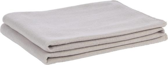 Fleecedecke Trendix Hellgrau 130x180cm - Hellgrau, Textil (130/180cm) - Mömax modern living