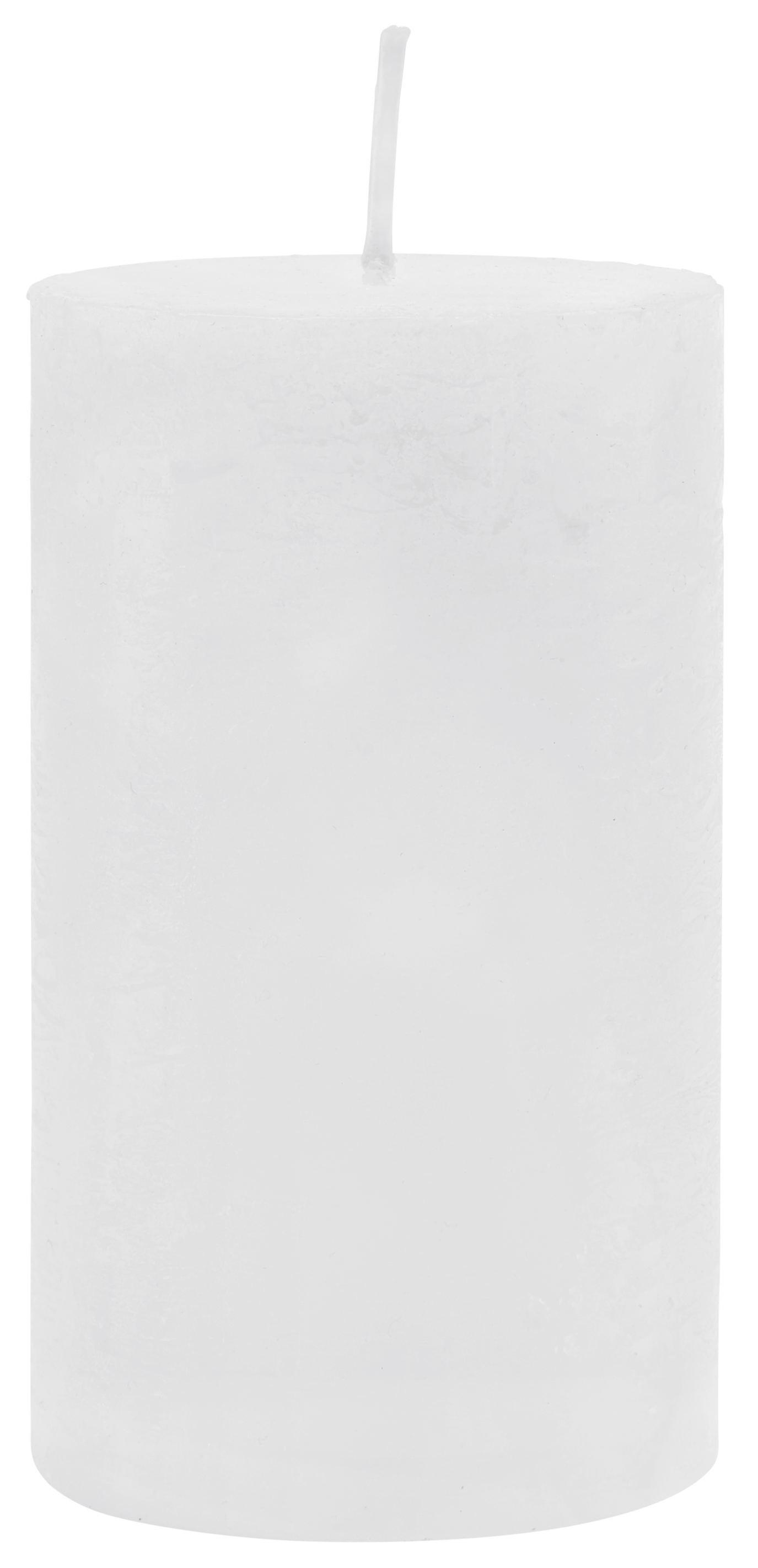 Tömbgyertya Lia - fehér, modern (7/12cm) - MÖMAX modern living