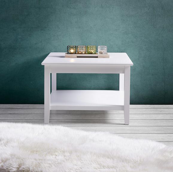 Couchtisch Claudia Vintage 65x65cm - Weiß, KONVENTIONELL, Holz (65/65/45cm) - Modern Living