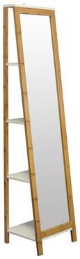 Standspiegel in Natur, ca. 40x170x35cm - Naturfarben, MODERN, Glas/Holz (40/170/35cm) - MÖMAX modern living