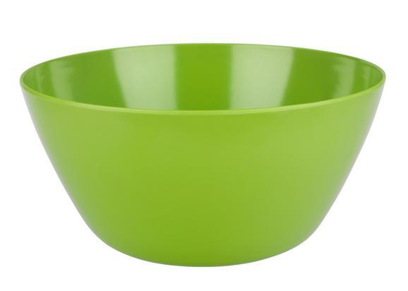 Skleda Za Solato Alisha Uni - zelena, umetna masa (25,5cm) - Mömax modern living