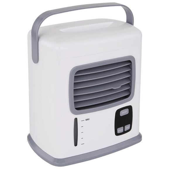 Luftkühler Tolly max. 3-5 Watt - Weiß/Grau, Kunststoff (17,7/19,5/12,35cm) - Insido