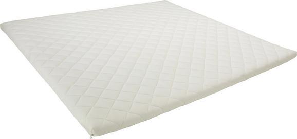 Topper Kaltschaumkern ca. 180x200cm - Weiß, Textil (180/200cm) - Premium Living