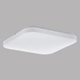 Deckenleuchte Frania mit LED - Weiß, MODERN, Kunststoff/Metall (28/28/7cm)