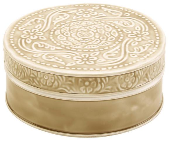 Dekorativna Škatla Lila - črna/siva, Romantika, kovina (20,5/7,5cm) - Mömax modern living