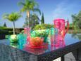 Trinkbecher Azza in verschiedenen Farben - Blau/Pink, LIFESTYLE, Kunststoff (8,5/16cm) - Mömax modern living